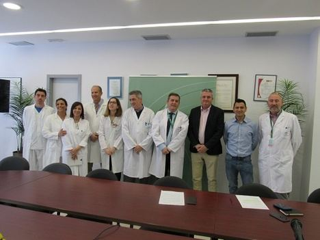8 trasplantes de córnea el primer año de aplicación de esta técnica en el Hospital de Poniente