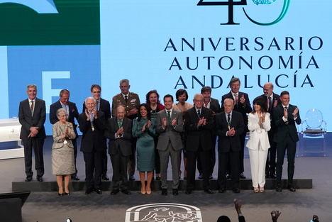 Moreno apela a la fuerza de Andalucía para defender la igualdad entre todos los españoles