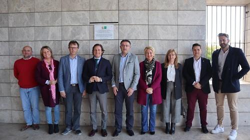 El Consorcio de Transporte culmina la reforma del apeadero de Berja
