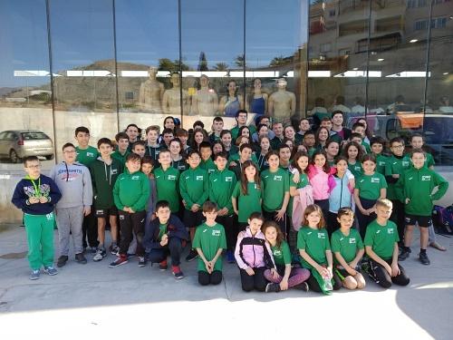 Natación de Almería se proclama ganador del V Trofeo Ciudad de Berja