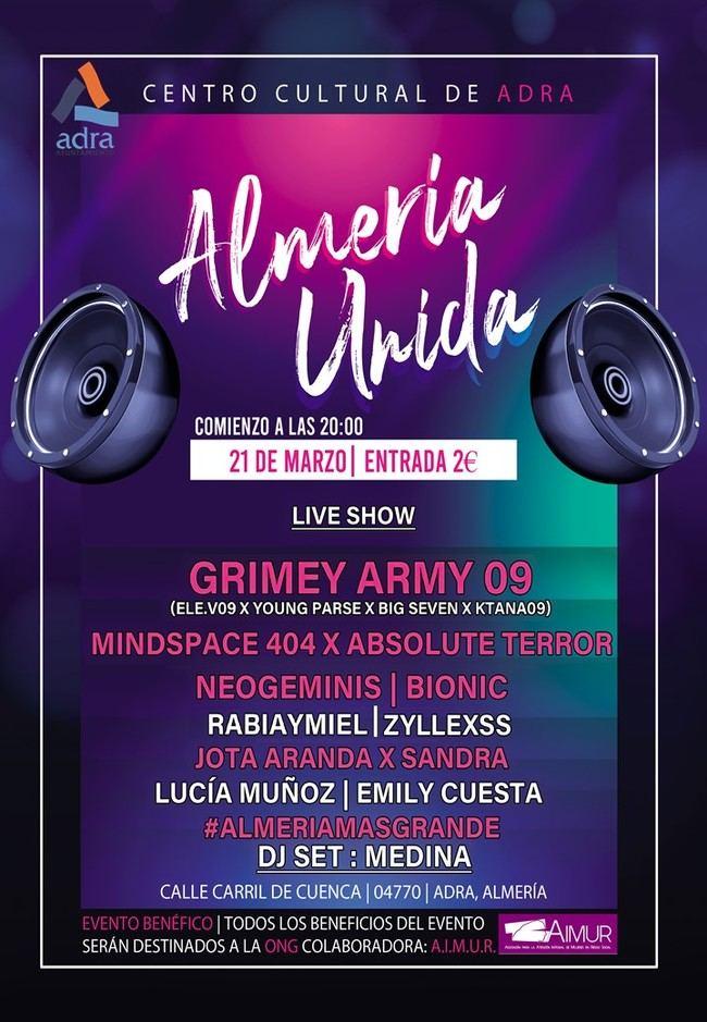 Adra celebra el 21 de marzo el Concierto Joven 'Almería Unida'