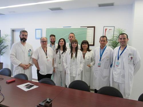 Avances en las intervenciones de prótesis de cadera en el Hospital de Poniente
