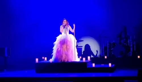 La voz de Diana Navarro conquista al público abderitano