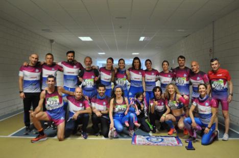 Los atletas almerienses consiguen 21 medallas en el Campeonato de España Máster