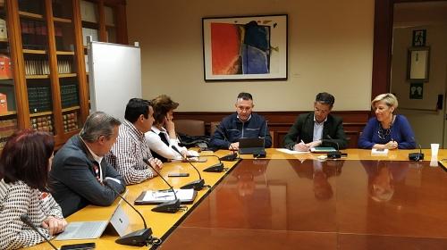 PSOE de Almería se reune en Madrid con organizaciones agrarias de Almería