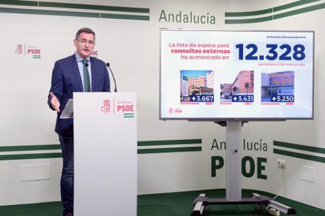 El PSOE califica de fracaso el plan contra la listas de espera