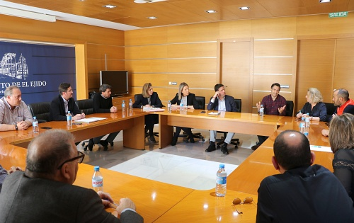 Plan anti COVID19 en el Ayuntamiento de El Ejido
