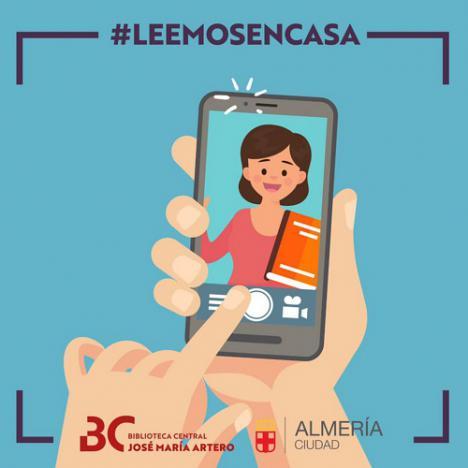 La Biblioteca Central amplía la Indaloteka con #LeemosEnCasa