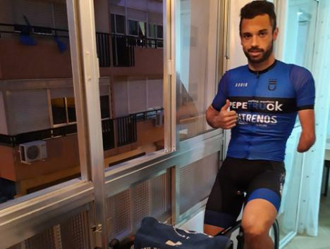 """Jairo Ruiz: """"Mi objetivo durante la cuarentena es retrasar la pérdida del estado de forma"""""""