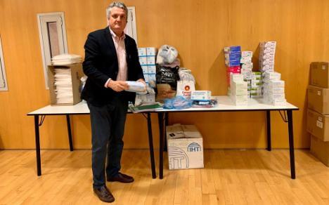 La Junta reparte casi 20.000 mascarillas en Almería
