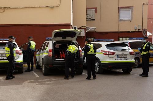 Policía Local de Adra realiza cinco intervenciones con detenidos en diez días