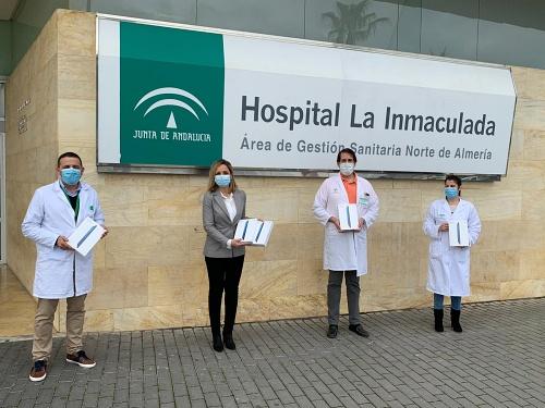 La Junta distribuye 20 tablets en los hospitales de Almería