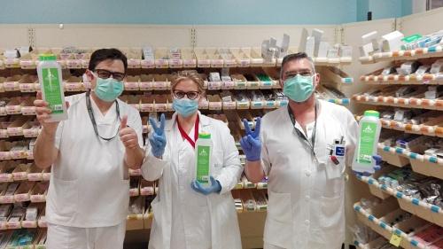 El Hospital de Poniente agradece las donaciones por #COVID19