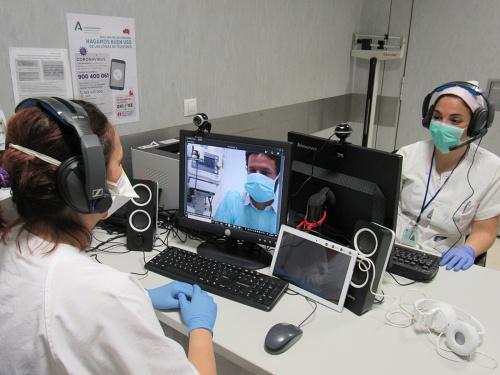 Tele-consulta para patologías respiratorias en el Hospital de Poniente