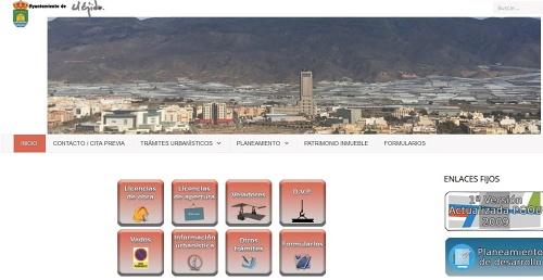 Ayuntamiento de El Ejido facilita la venta de comida en su web
