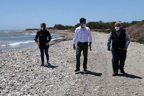 El Ayuntamiento solicita a Costas arena en los litorales de Balerma y Guardias Viejas