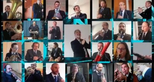 La alegría brasileña en el concierto virtual de la Banda Municipal