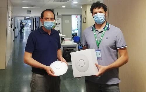 El Hospital de Poniente incorpora wifi gratuita para pacientes y acompañantes