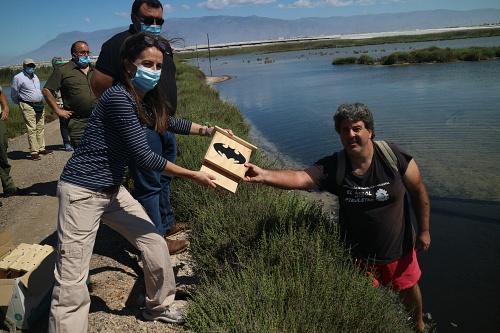 La Junta celebra en Almería el Día del Medio Ambiente en Punta Entinas Sabinar