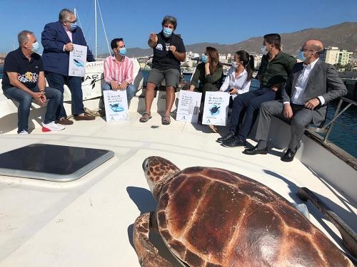 Andalucía dice desde Adra 'Stop bolsas de plástico' en el Día Mundial de los Océanos
