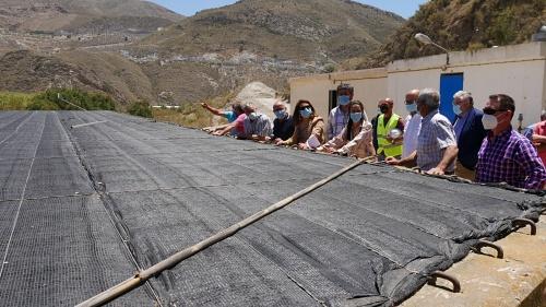El alcalde de Adra destaca la modernización de infraestructuras hídricas para la agricultura