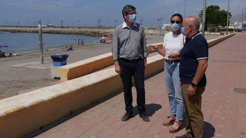 Más socorristas y medidas anti #COVID19 en las playas de Adra