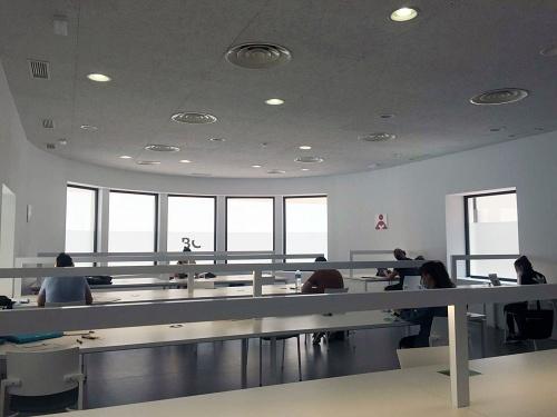 Biblioteca Central amplía la apertura de las salas de estudio 24/7 a los fines de semana