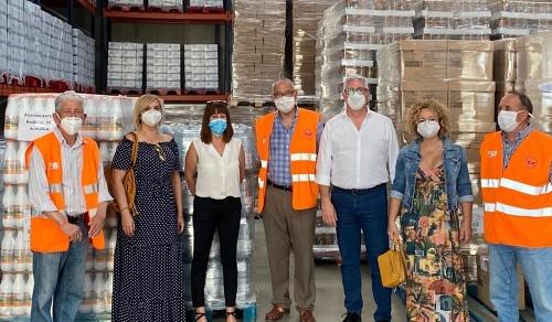 Huércal de Almería duplica su subvención a la Fundación Banco de Alimentos