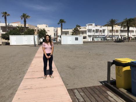 Carboneras tiene las playas listas y con aforo limitado por el #COVID19