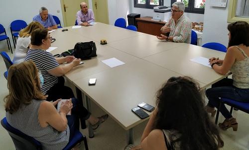 El Ayuntamiento de Huércal de Almería y Cáritas sientan bases de colaboración