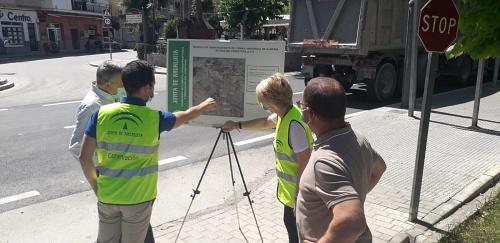 Fomento rehabilita la carretera A-317 en Los Vélez