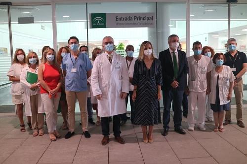Abierta al público la nueva entrada al Hospital Torrecárdenas