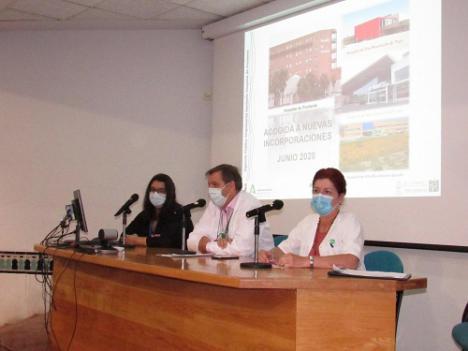 El Hospital de Poniente acoge a los profesionales para el verano