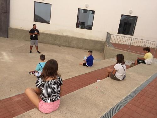 Un taller juvenil sobre #COVID19 inaugura 'Tu Patio En Verano' de la Biblioteca Central