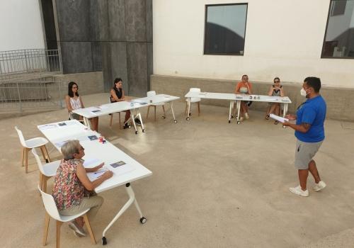 'Leyendas Almerienses' en el taller de adultos de 'Nuestro Patio En Verano'
