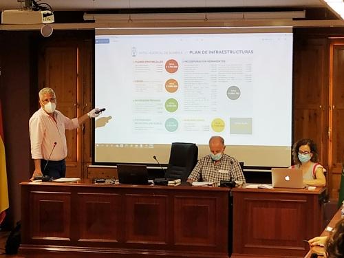El PSOE no hace ni una aportación en la comisión que prepara los presupuestos de Huércal