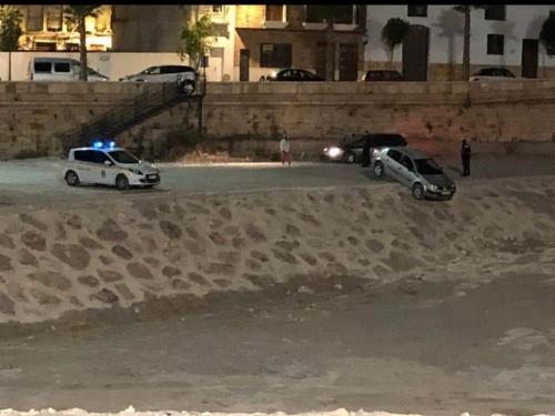El alcalde de Albox culpa a un 'personaje con poder' del accidente de un coche