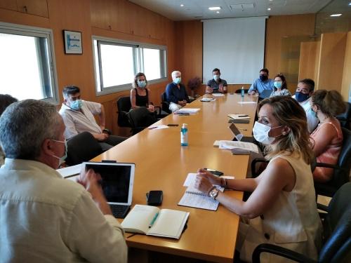 Reunión de coordinación en la Junta sobre el #COVID19