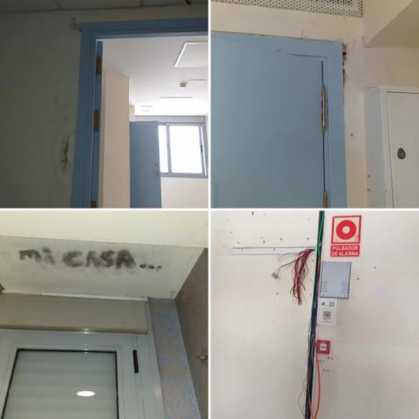 "CSIF culpa al SAS del abandono ""absoluto"" del Hospital de la Cruz Roja"