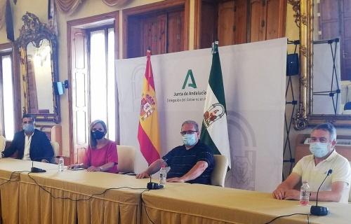 Recepción de la Junta al CD El Ejido Futsal y el CD El Ejido 2012