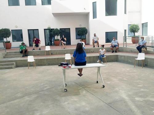 'Nuestro Patio En Verano' de la Biblioteca Central llega a su ecuador