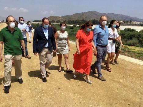 Crespo destaca las obras de defensa ejecutadas en Almería frente a futuras avenidas