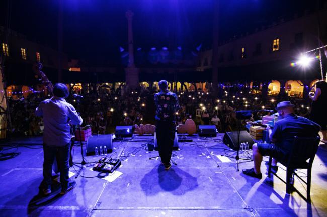 Rayden ofrece a Almería un concierto 'imperdible'