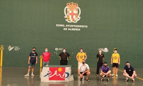 Almería gana la Copa de Andalucía de Pala Corta y el podio en el Frontón Andarax