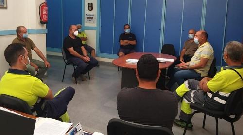 Protocolos antiCOVID19 en los colegios de Adra
