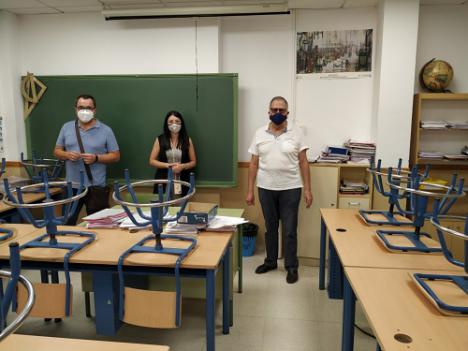 El Ayuntamiento de Huércal cede espacio para Educación por el #COVID19
