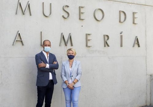 La delegada de Cultura recibe al nuevo director del Museo Arqueológico