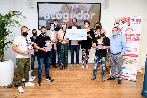 La Ruta de la Tapa Solidaria recauda 5.528 euros para A Toda Vela