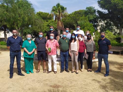 Donación de material #COVID19 de Hermandad de Guardias Civiles Auxiliares de Almería a Asprodesa