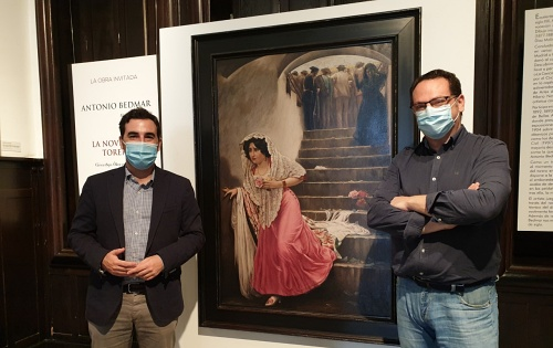 El pintor almeriense Alejandro Bedmar Iribarne expone 'La Novia del Torero'